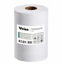 фото: Бумажные полотенца Veiro Professional Basic K101 в рулоне, 180м, 1 слой, белые, 6 рулонов