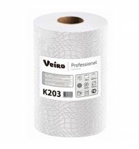 фото: Бумажные полотенца Veiro Professional Comfort K203 в рулоне, 170м, 2 слоя, белые, 6 рулонов